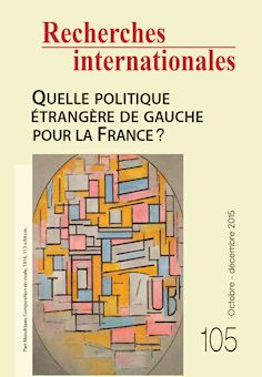 Re cherches internationales - octobre - décembre 2015