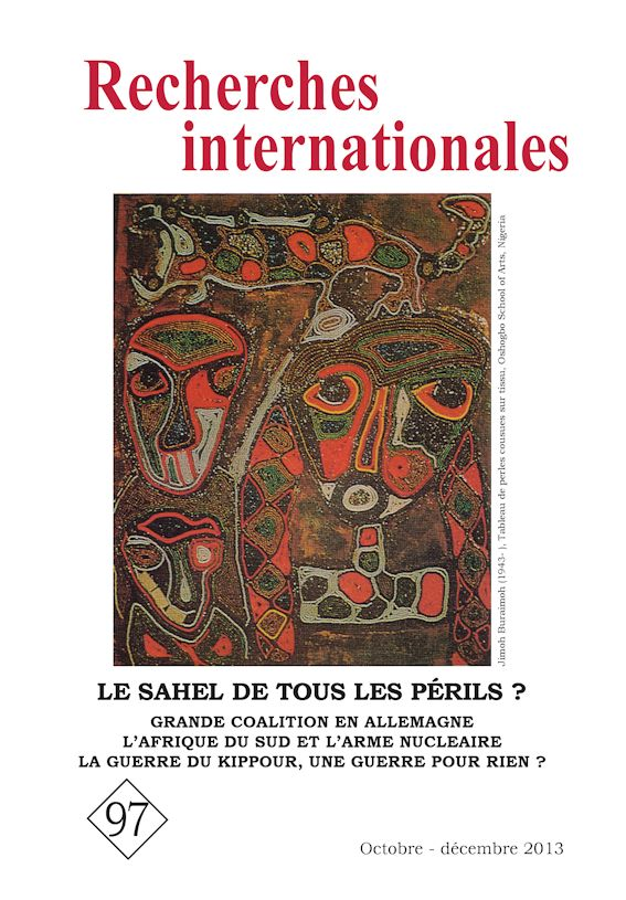 Recherches internationales 97