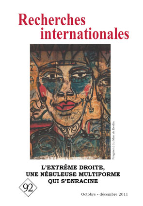 Recherches internationales 92