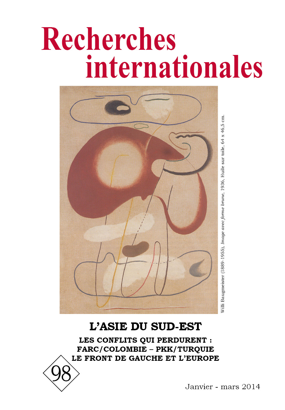 Recherches internationales 98